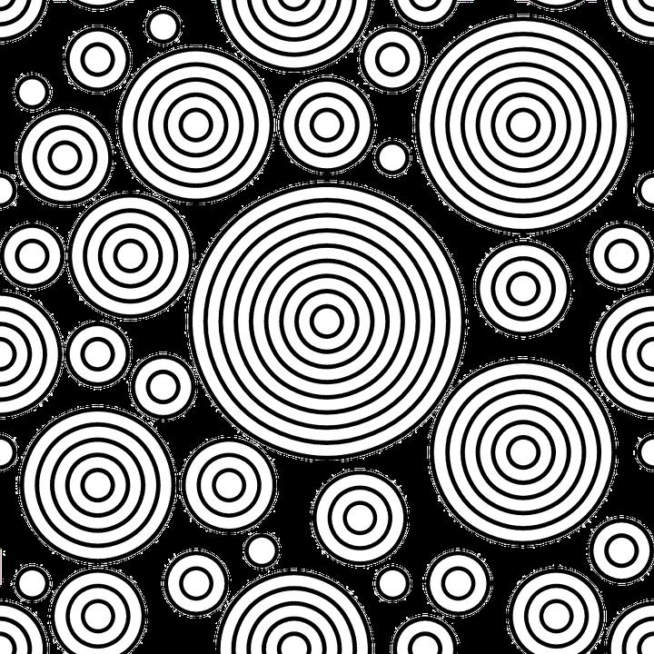 Circles, Blank, Template, Design, Gray Circle