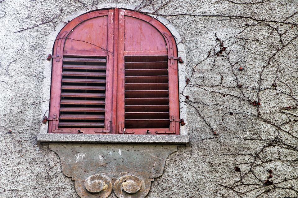 Window Sill, Lake Dusia, Gray, Window, Old