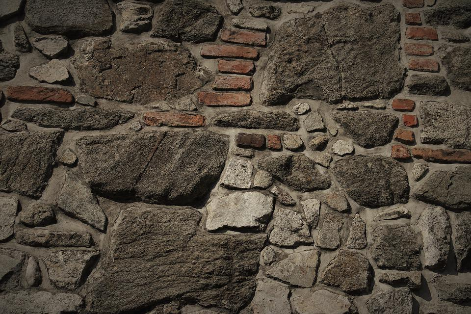 Walls, The Walls Of The, Stone, Pattern, Gray, Brick