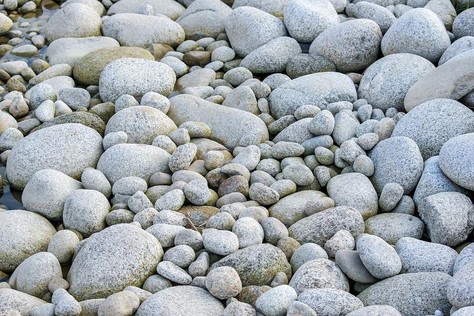 Stones, Rocks, Gray, Background, Texture, Model