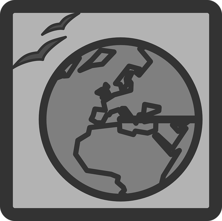 Web, Document, Icon, Symbol, Gray Web, Gray Document