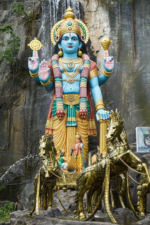 Temple, Sculpture, Big, High, Great, Ancient City