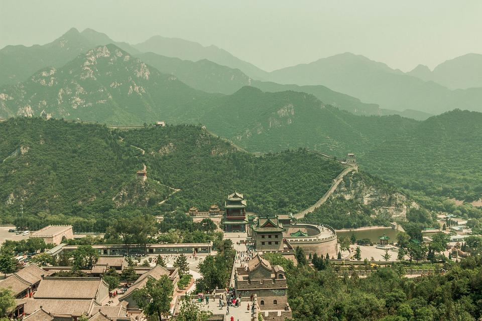 free photo great wall of china china chinese asian landscape max pixel