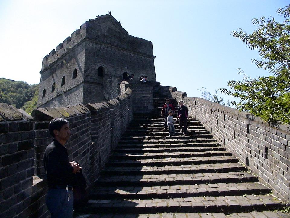 Great Wall Of China, Defensive Walls, Building, China