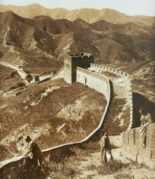 Great Wall Of China, Border, Long Great Wall Of China