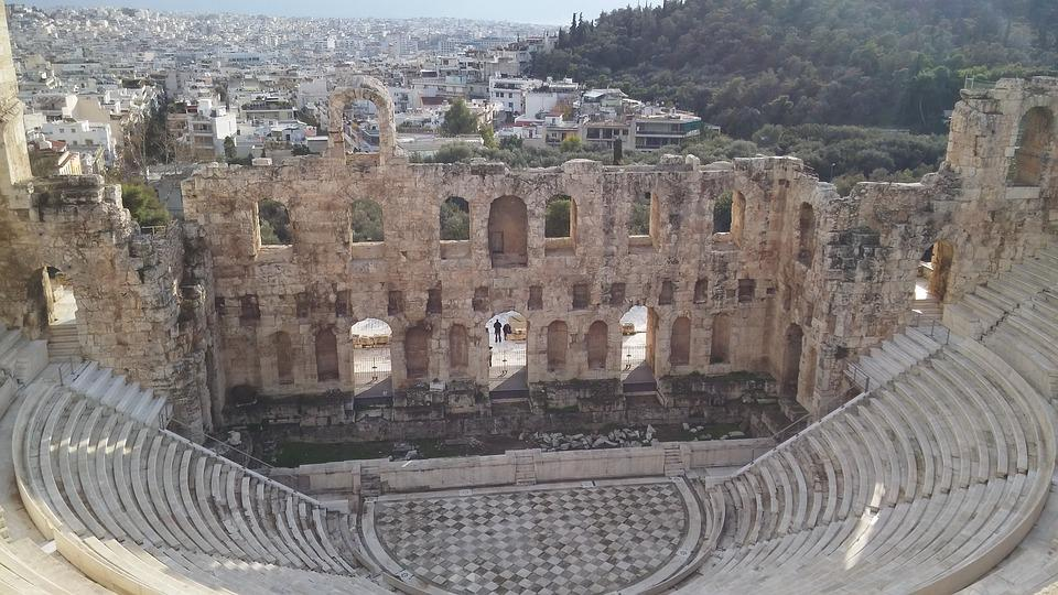 Greek Theatre, Greece, Antique