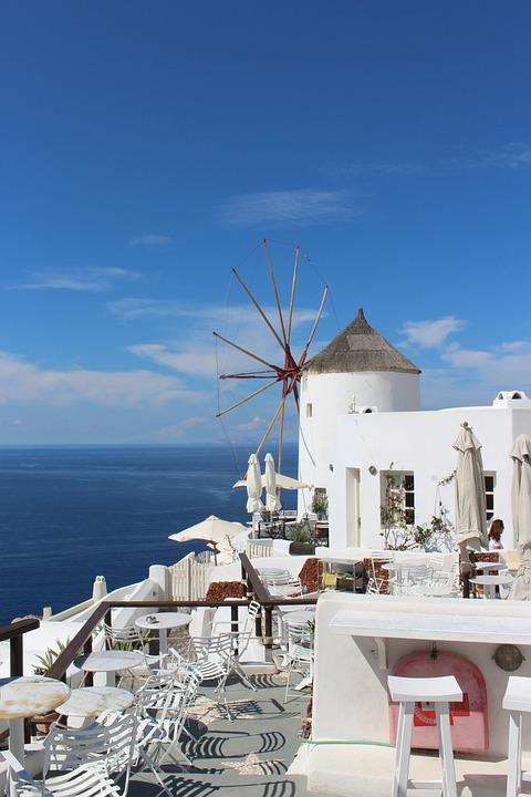 Santorini, Oia, Greece, Travel, Sea, Architecture