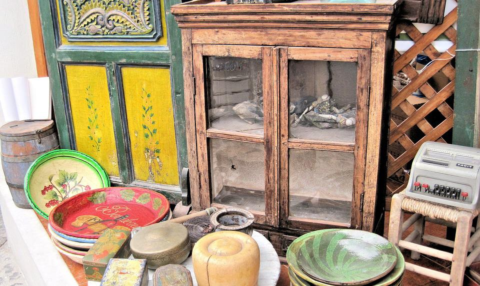 Wood Items, Art Shop, Antiques, Greece