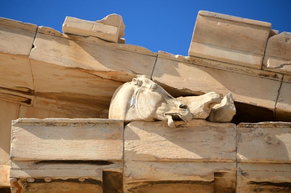Acropolis, Greece, Athens, Antique, Temple