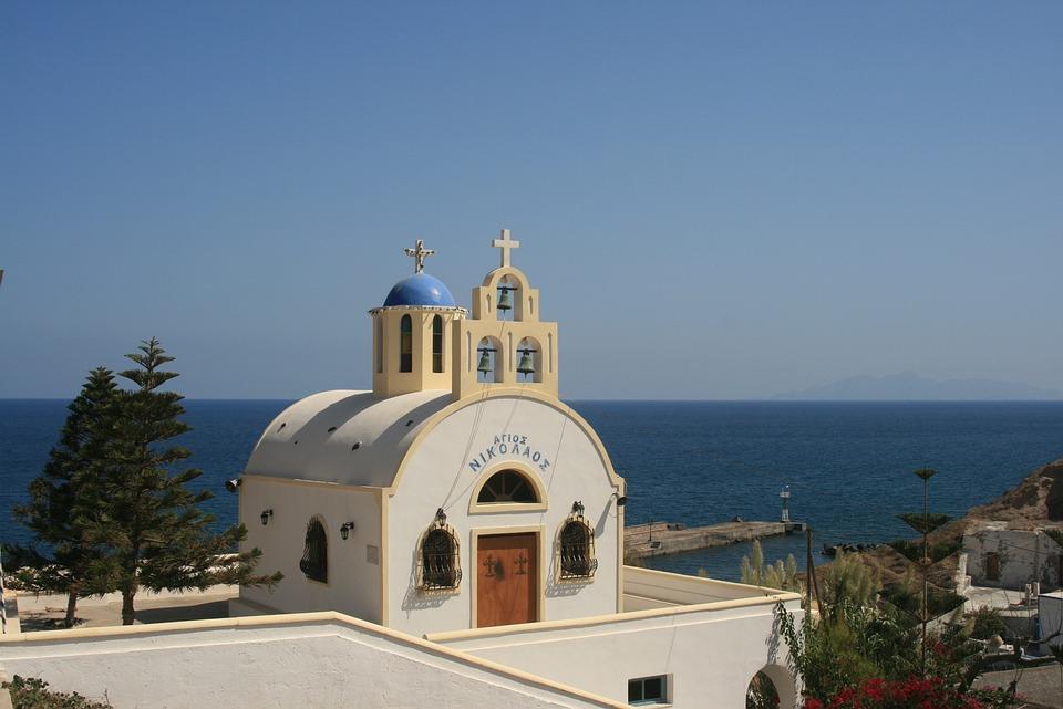 Cyclades, Greece, Santorini