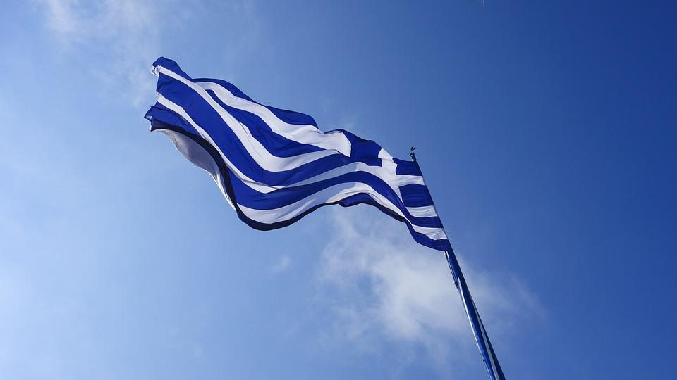 Greece, Flag, Country Flag, Greek, Europe, Holiday