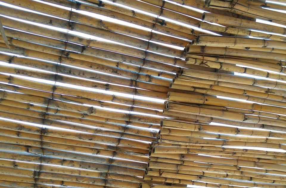 Bamboo, Canopy, Gazebo, Greece, Plot