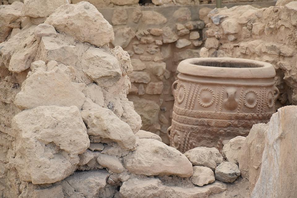 Knossos, Crete, Archaeology, Temple, Ruin, Greece