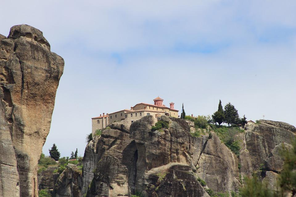 Meteora, Monastery, Religion, Greece