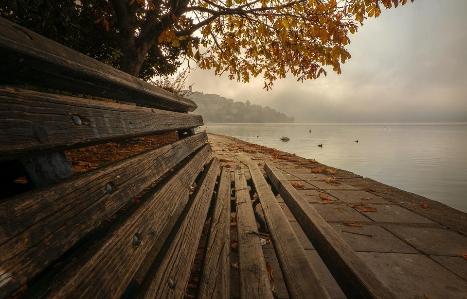 Kastoria, Fall, Autumn, Greece, Mood, Trees, Lake
