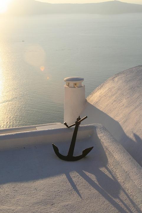 Sea, Greece, Santorini, Cyclades, Holidays, Holiday