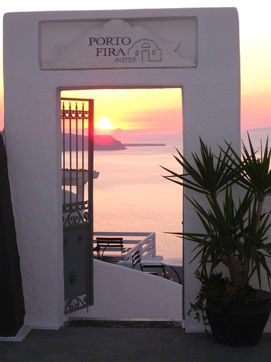 Greece, Sea, Holiday, Santorini