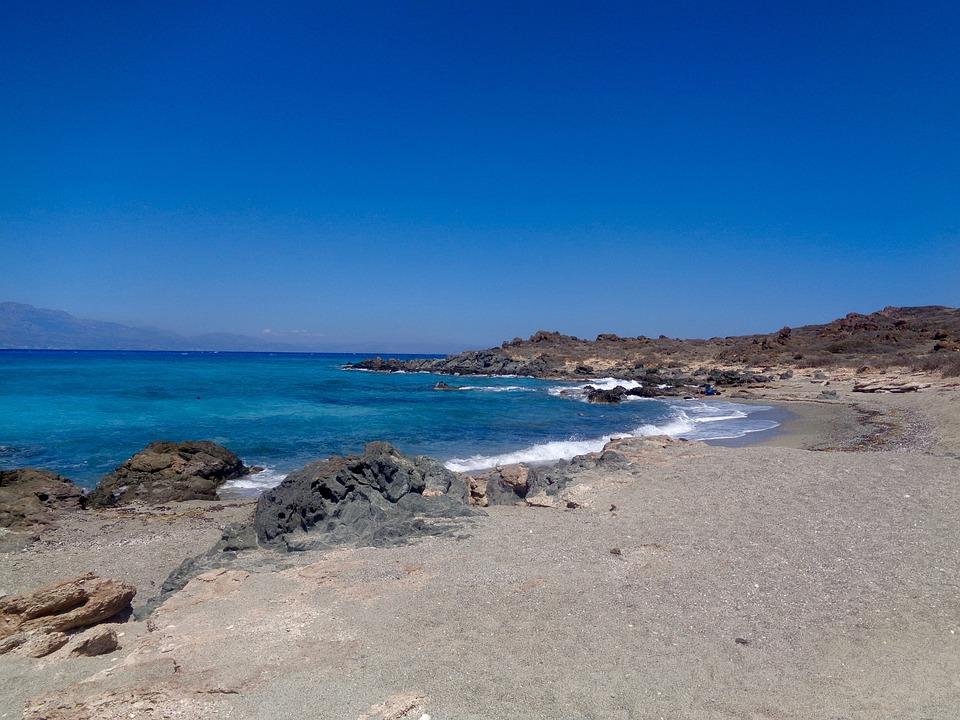 Gold, Gaidouronisi, Crete, Greece, Sea, Summer