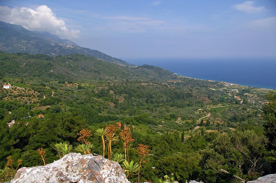 Samos, Island, Greece, Sea, Sea View, Holiday, Summer