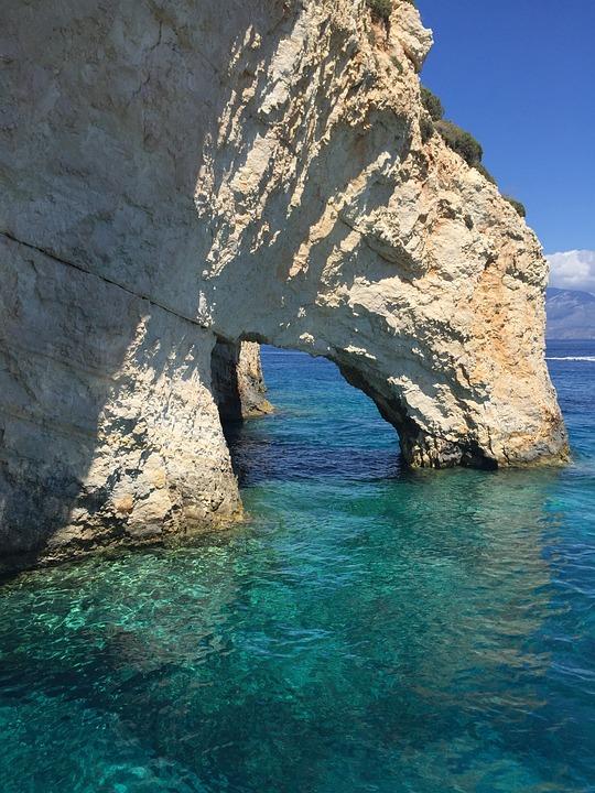 Greece, Zakynthos, The Blue Caves