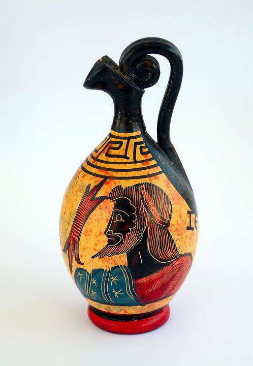 Ceramic, Greek, Pottery, Ancient, Archaeology, Greece