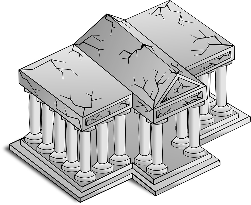 Temple, Architecture, Greek, Building, Columns