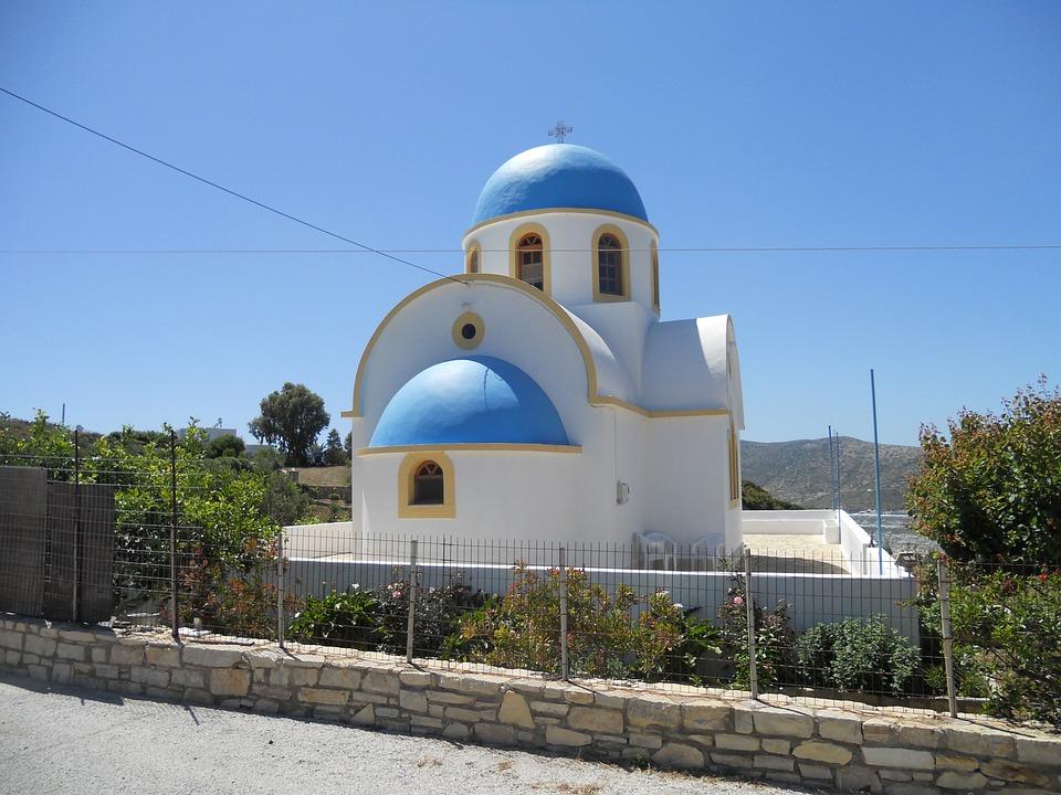 Greece, Greek, Greek Island, Chapel, Church