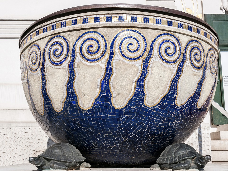 Well-known Free photo Greek Decoration Turtles Former Mosaic Vase - Max Pixel XB77