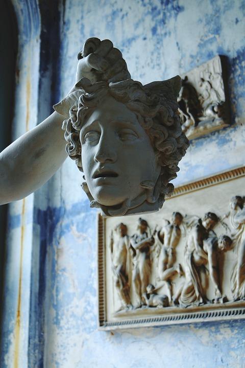 Head, Statue, Roman, Sculpture, Ancient, Face, Greek