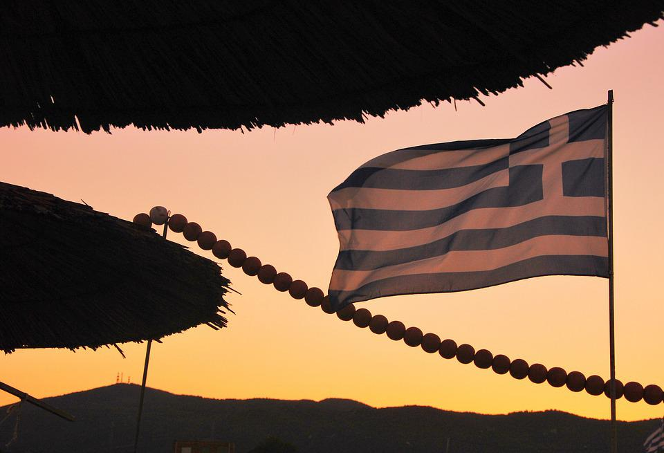 Greece, Flag, Greek, Symbol