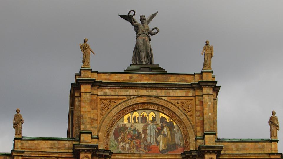 Greek, Goddess Of Victory, Nike, Greek Gods Figures