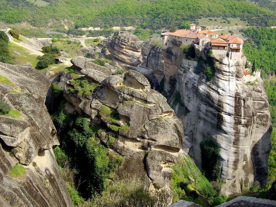 Meteora, Kalabaka, Kalambaka, Monastery, Greece, Greek