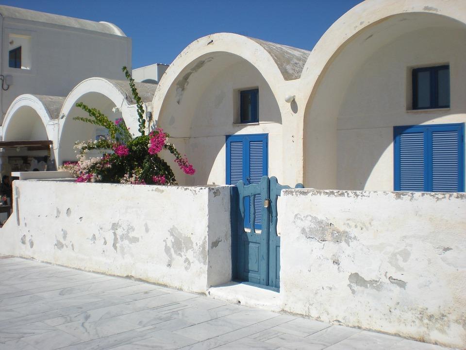 Santorini, Greek Island, Greece, Marine, Street View