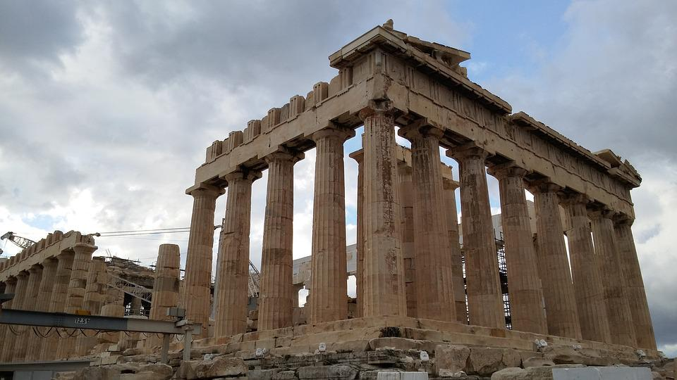 Greek Temple, Greece, Architecture, Ancient Ruins