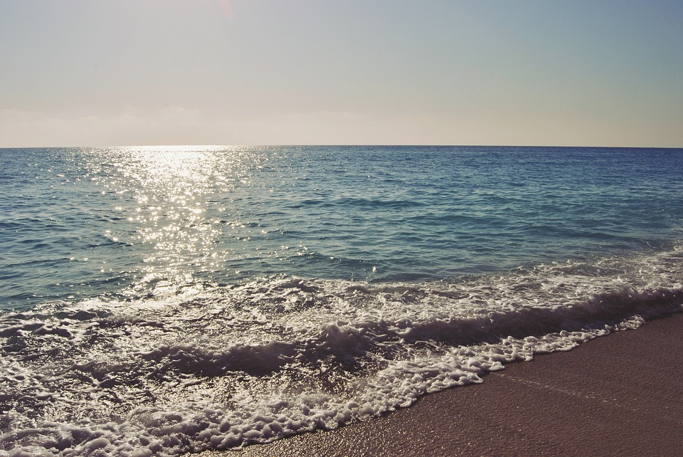 Egremni Beach, Beach, Water, Greek, Island, Lefkada