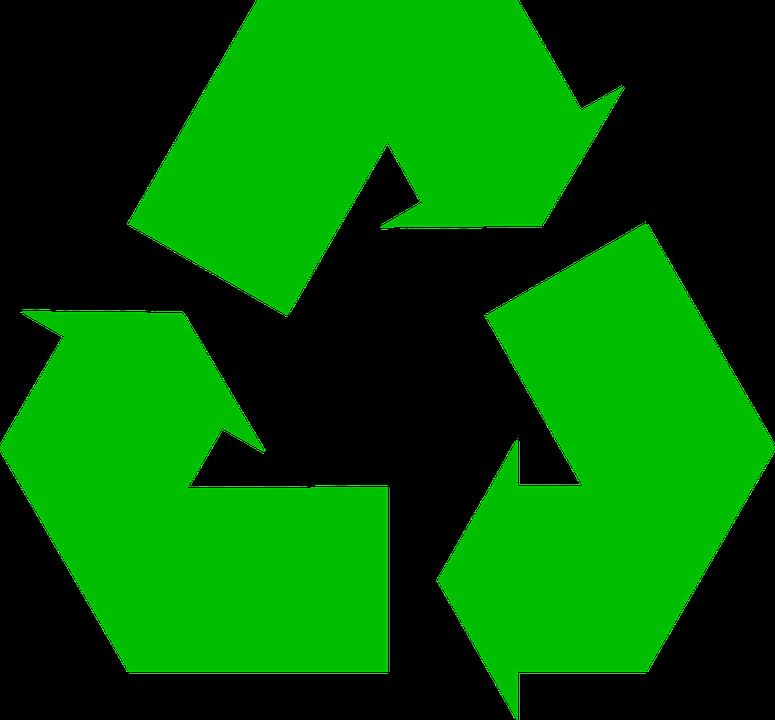 Recycling, Arrows, Green, Symbol