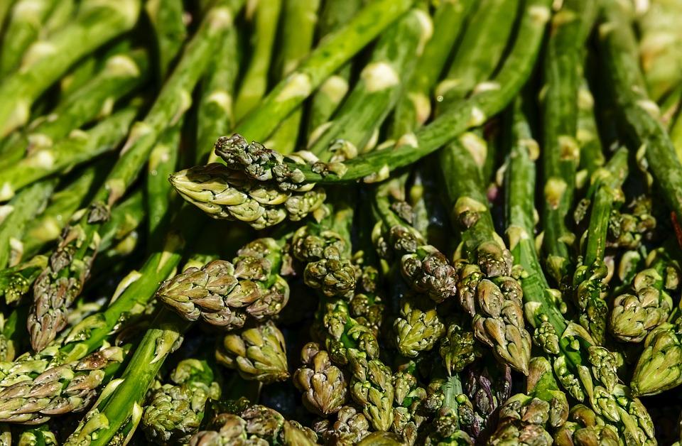 Asparagus, Green Asparagus, Green, Asparagus Time