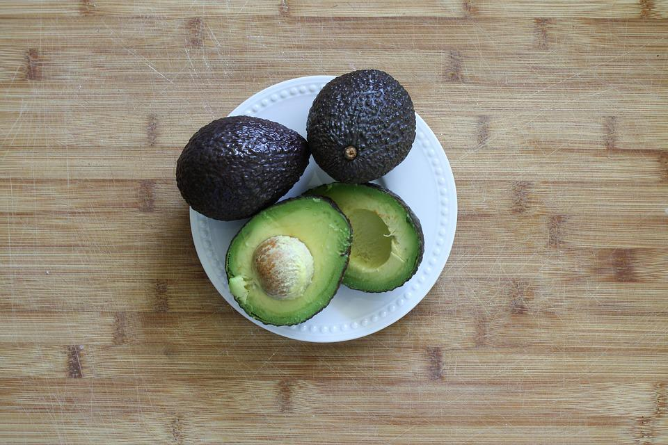 Avocado, Fresh, Green, Vegetarian, Raw, Vegetable