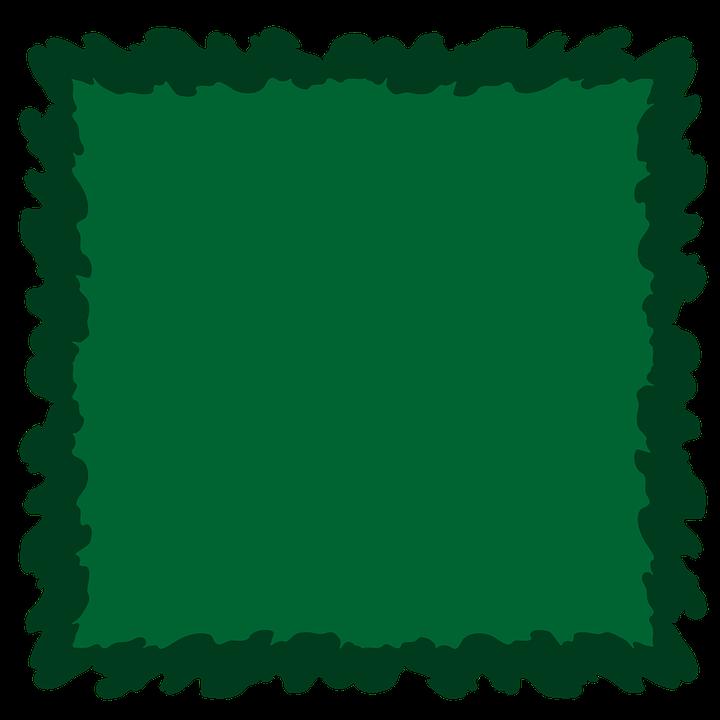 Dark Green, Green, Frame, Background, Album, Border
