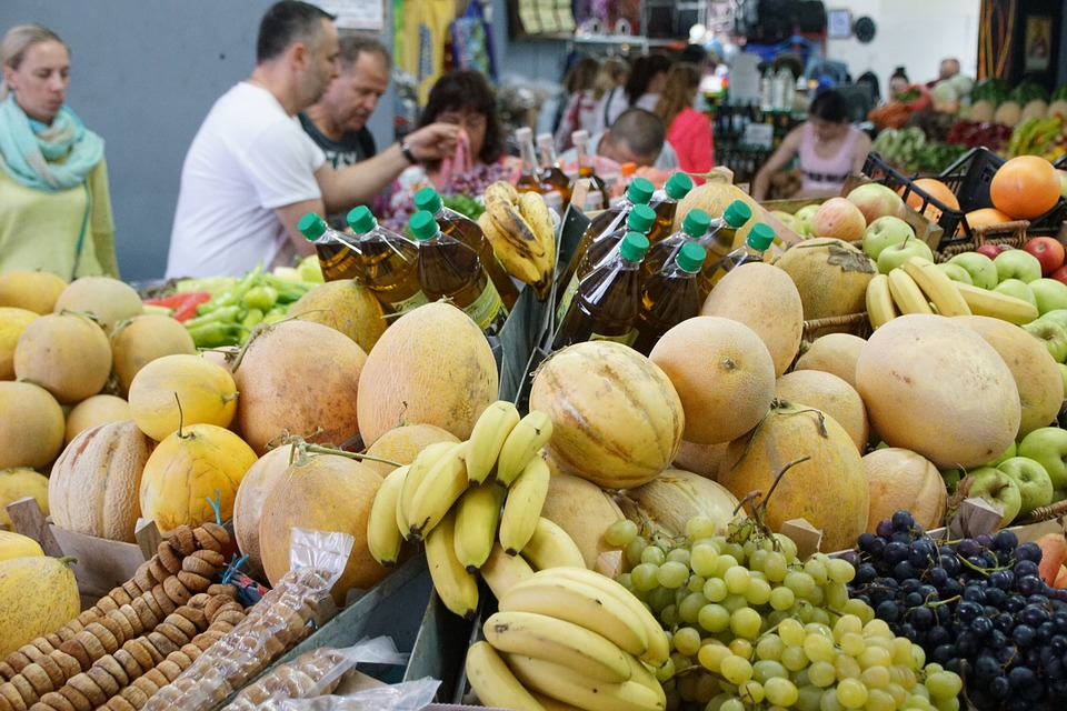 Fruit, Market, Called Rothmans, Fair, Eating, Green