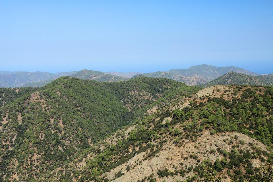 Cyprus, Forest, Greek, Green, Hill, Island, Landscape