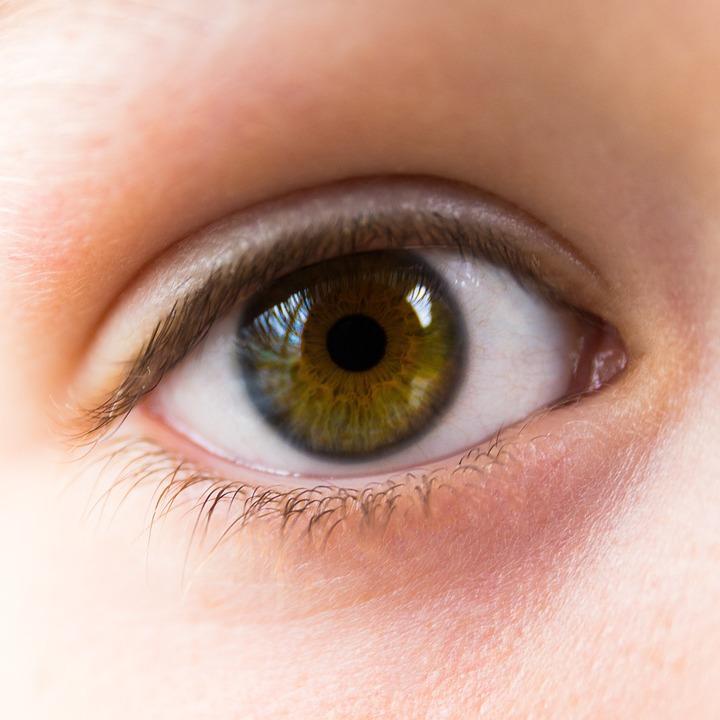 Eye, Green, Brown, Open, Look, Close