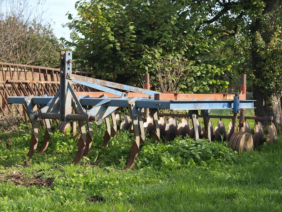 Harrow, Nature, Field Economics, Green, Fence