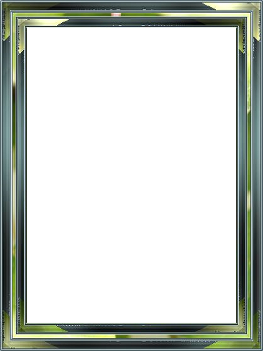 Frame, Picture Frame, Outline, Green, Blue, Isolated