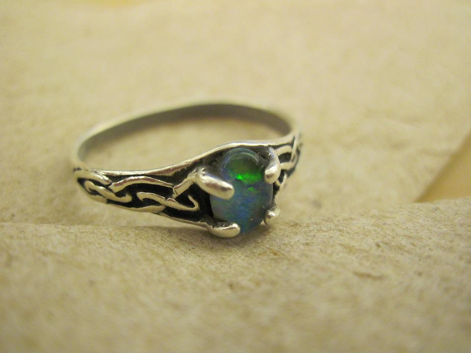 Jewelry, Rings, Gem, Vintage, Green Gem