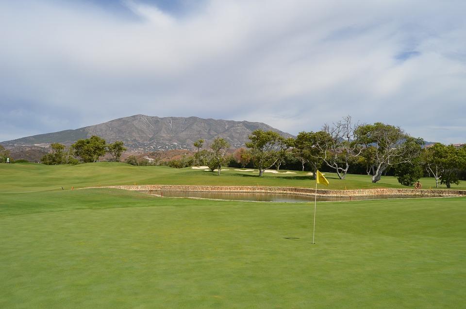 Golf, Santana, Mijas, Spain, Green