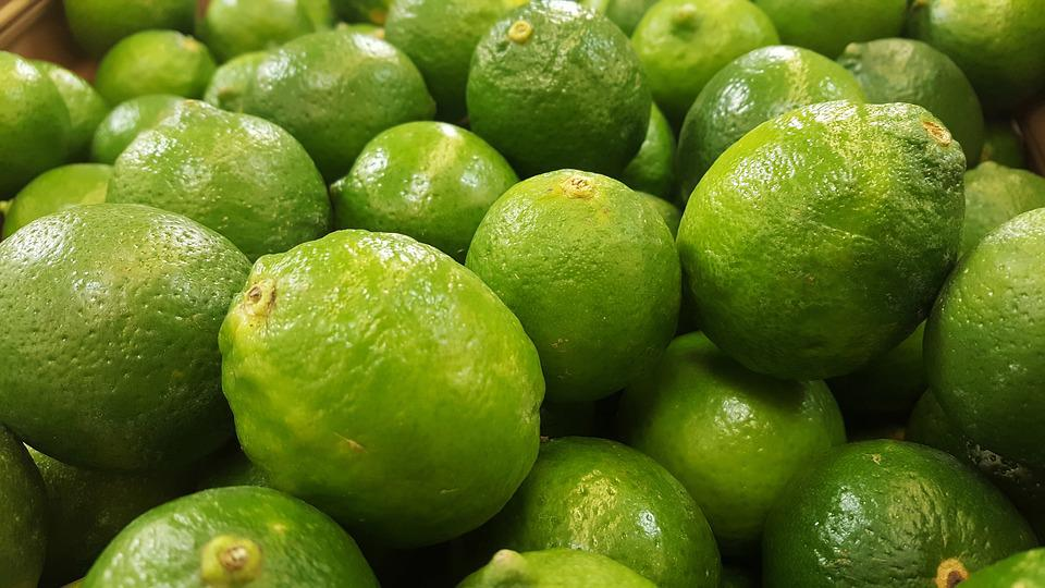 Limes, Green, Sour, Citrus, Fruit, Food, Grocery, Juice