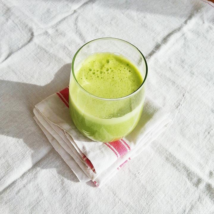 Juice, Green, Food, Healthy