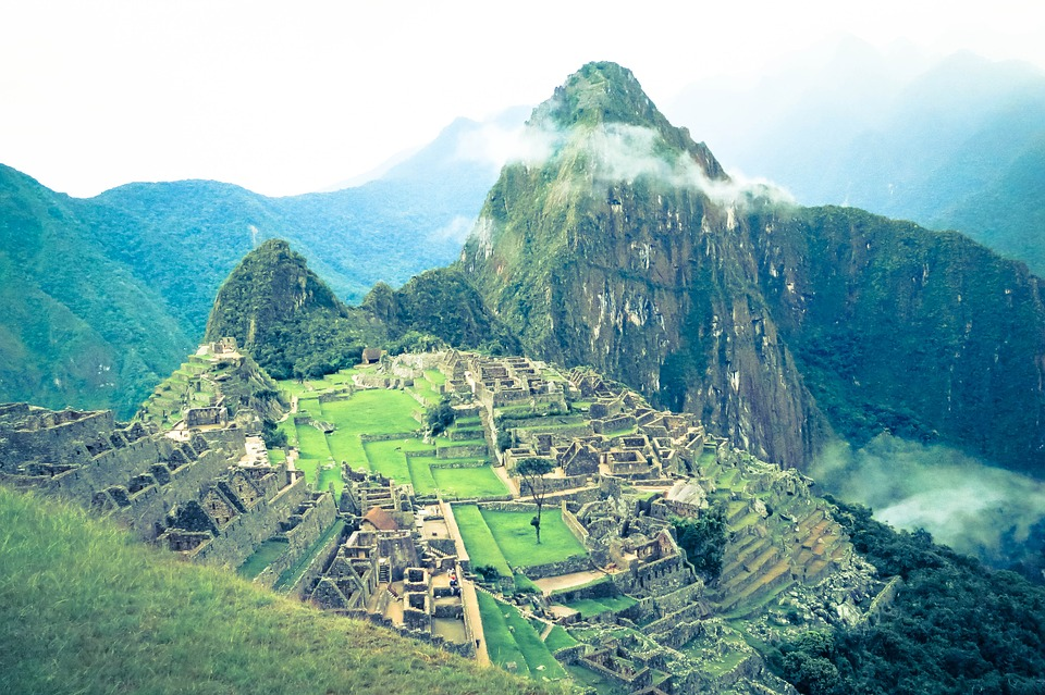 Machu Picchu, Peru, Landscape, Nature, Green, Grass