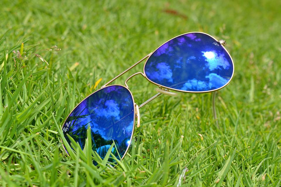 Lawn, Summer, Nature, Sunglasses, Grass, Green, Fashion